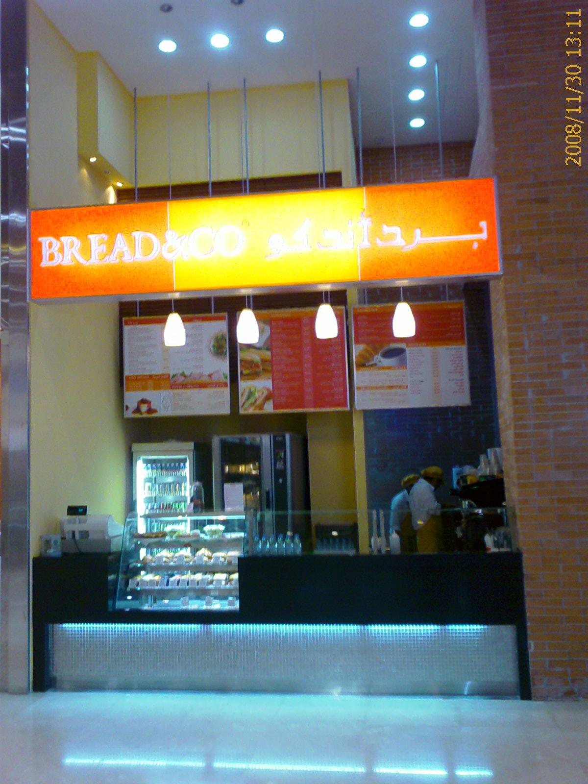 Bread & Co – DXB MALL